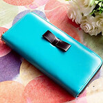 LightInTheBox Women's Korean New Style Fashion Cute Long Wallet With Bowknot