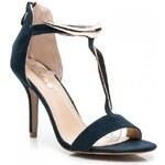 BELLUCCI Sexy modré dámské sandály