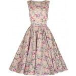 Lindy Bop Audrey Peach Floral