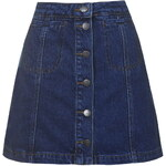 Topshop TALL Button Pocket Skirt