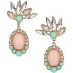 Topshop Pastel Stone Drop Earrings