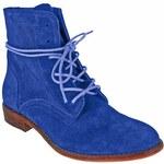 Redhot Dámská kožená kotníčková obuv 30193_blue