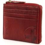 Kožená peněženka Strellson Edwyn H6 4010001474 červená
