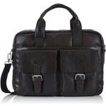 Pánská taška Strellson Greenford Briefbag 4010001446 tm. hnědá