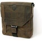 Pánská kožená taška přes rameno hnědá Strellson 2-92-14118