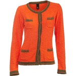 HEINE - BC DÁMSKÝ PLETENÝ BLEJZR HEINE - BC, dámský pletený blejzr oranžový , Velikosti normální 40, Značka Heine, Barva oranžová
