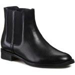 Kotníková obuv s elastickým prvkem GINO ROSSI - Nevia DSG055-G12-3V00-9900-F Černá