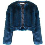 Topshop **Faux Fur Coat by Oh My Love