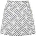 Topshop **Annie Jacquard Skirt by Motel