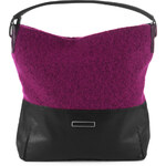 Esprit mixed material hobo bag
