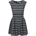 Topshop **Scuba Stripe Fit And Flare Dress by Wal G