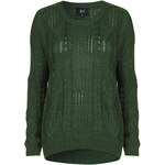 Topshop **Timeless - Green Jumper by Goldie