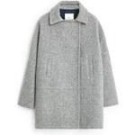 Mango - Kabát Mariona - šedá