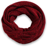 Esprit two-tone knitted snood