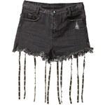 One Teaspoon COWBOY ROMEOS Jeans Shorts black