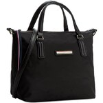 Kabelka TOMMY HILFIGER - Poppy Small Tote AW0AW01136 Black 002