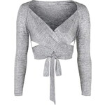 Topshop **Cross Over Top by Love