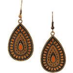 Esprit metal tear-drop earrings