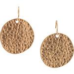 Esprit golden metal earrings