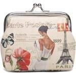 Mixone Stylová mincovka Paris Vintage
