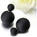 Oboustranné náušnice Balloons, black