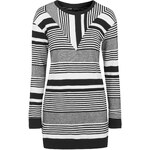 Topshop Cutabout Stripe Tunic Dress