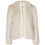Topshop **Perreton Faux Fur Jacket by Jovonna