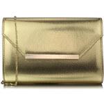 Luxusní zlaté psaníčko LS Fashion 0293 zlatá