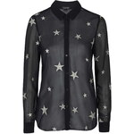 Topshop Star Embellished Shirt