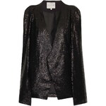 Topshop **Black Sequin Cape Blazer by Lavish Alice