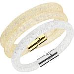 Swarovski Sada zlatého a stříbrného náramku Stardust Bracelet Set 5184499