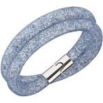 Swarovski Modrý dvojitý náramek Stardust Blush Blue 5169592