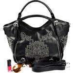 Krásná vzorovaná kabelka do ruky Olivian Magical 6930