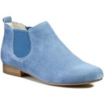 Polobotky CAPRICE - 9-25300-24 Jeans Suede 841