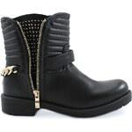 BLESS Černé podzimní kotníkové boty 1546B