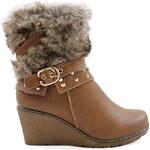 Dabao Zimní boty na klínu M51861C