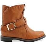 Ctogo GOGO Nazouvací kotníkové boty 6687-2C