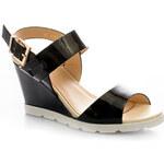 Bellamila Lesklé sandály 2016B