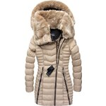 streetIN Dámská zimní bunda - béžová Velikost: XL