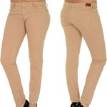 Frank NY Ladies Basic Skinny Jeans beige
