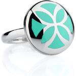 Esprit steel/resin ring