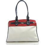 Dámská kabelka letní - Seka 1107 bílá