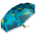 Esprit petrol umbrella with large spots