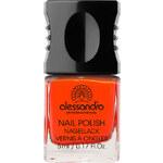 Alessandro 14 - Orange Red Hot & Soft Brown Lak na nehty 10 ml