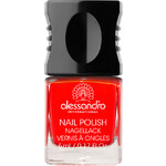 Alessandro 31 - Girly Flush Hot Red & Soft Brown Lak na nehty 10 ml