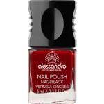 Alessandro 26 - Velvet Red Hot & Soft Brown Lak na nehty 10 ml