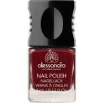Alessandro 54 - Midnight Red Hot & Soft Brown Lak na nehty 10 ml