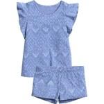 H&M Vzorované žerzejové pyžamo