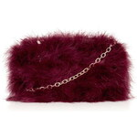 Topshop Real Feather Marabou Bag