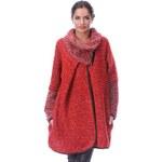 Gipsy Chic Dámský vlněný kabát rivka_rouge